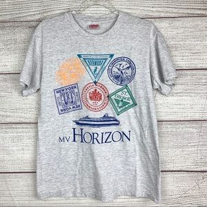 Bermuda MV Horizon Vintage Heather Gray Tee